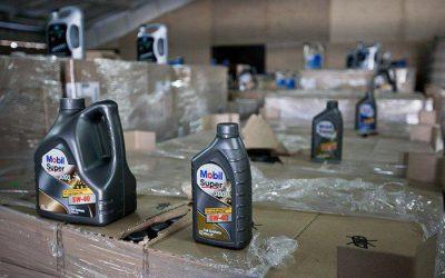 В Подмосковье «накрыли» нелегальный «завод», разливавший дешевые моторные масла